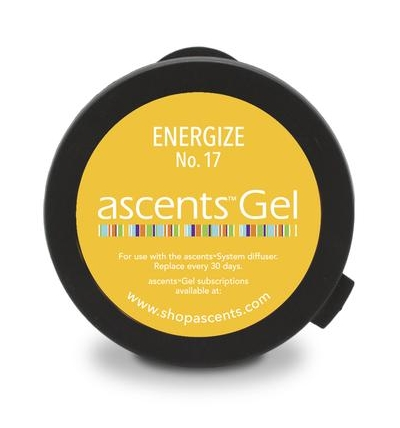 Energize No. 17 Ascents Gel® Clinical Aromatherapy