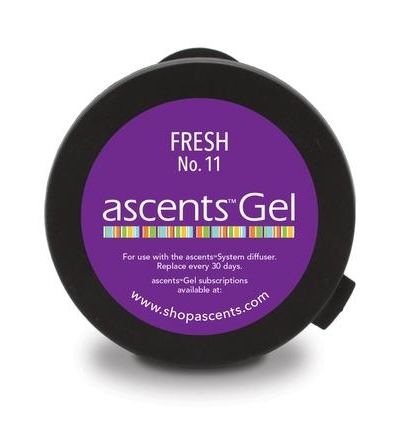 Fresh No. 11 Ascents® Gel Clinical Aromatherapy