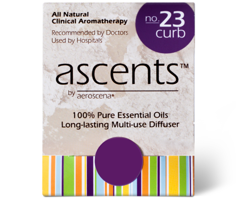 Curb No. 23 Essential Oil Inhaler Ascents™ Clinical Aromatherapy