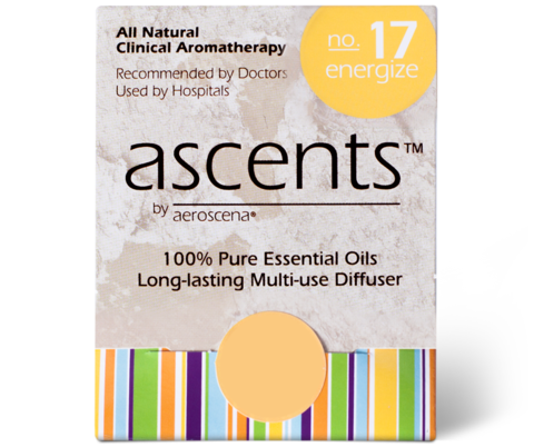 Energize No. 17 Essential Oil Inhaler Ascents™ Clinical Aromatherapy