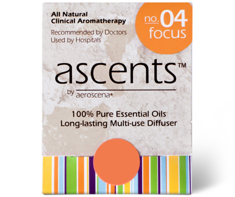 Focus No. 04 Essential Oil Inhaler Ascents™ Clinical Aromatherapy
