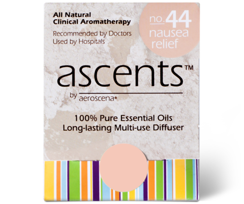 Nausea Relief No. 44 Essential Oil Inhaler Ascents™ Clinical Aromatherapy