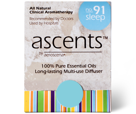 Sleep No. 91 Essential Oil Inhaler Ascents™ Clinical Aromatherapy