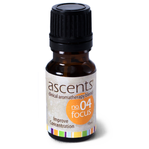 Focus No. 04 Essential Oil Formula Ascents™ Clinical Aromatherapy